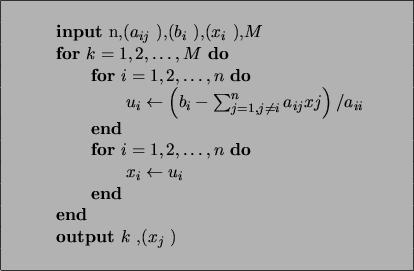 Método de Gauss-Seidel y Newton