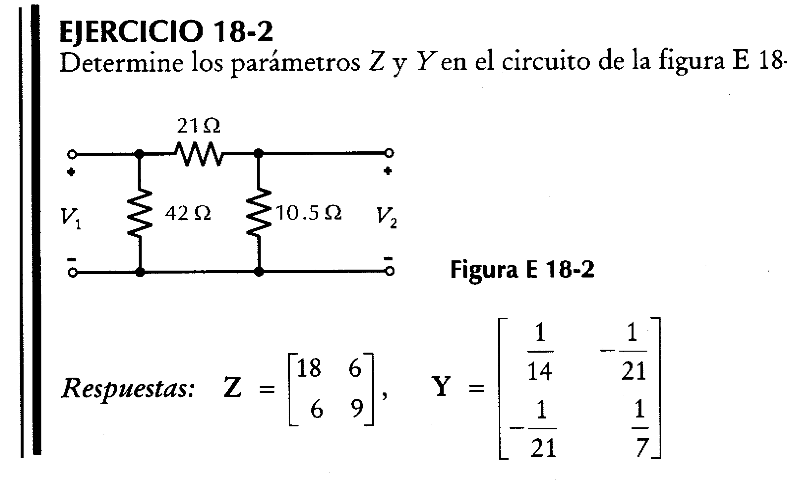 Análisis de circuitos eléctricos: Red de dos puertos