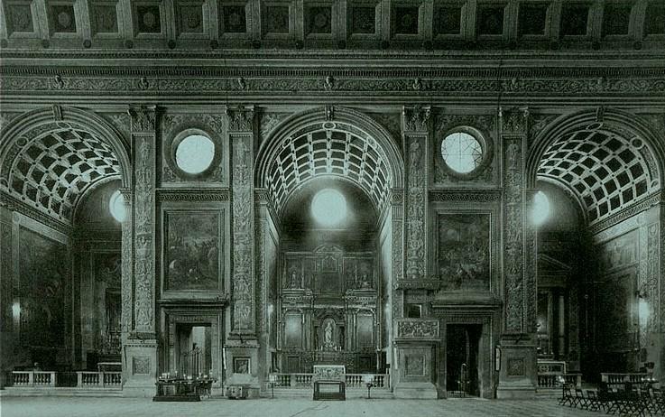 'Basilica de San Andrés de Mantua; Leon Battista Alberti'