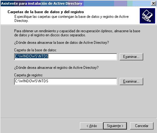 'Controladores de dominio'