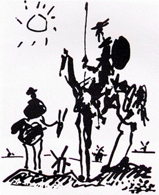'Don Quijote de la Mancha; Miguel de Cervantes Saavedra'