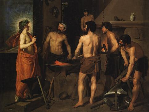 'La fragua de Vulcano; Velázquez'