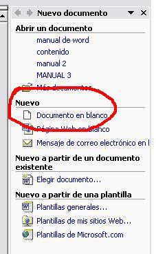 'Manual word para Windows XP'