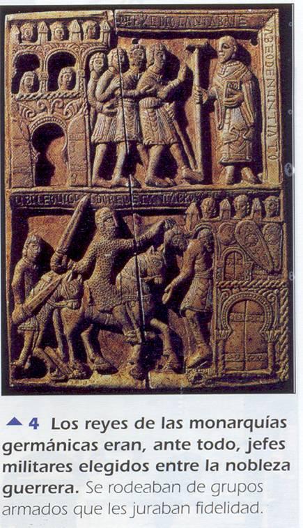 'Germanos, bizantinos, árabes'