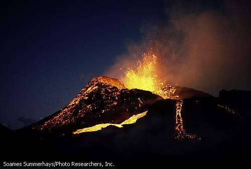 Volcanes. Terremotos
