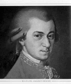 'Wolfgang Amadeus Mozart'